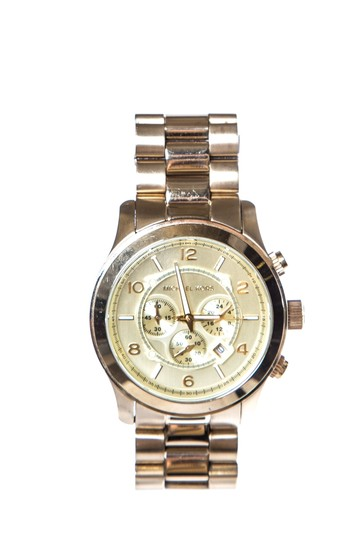 Preload https://item5.tradesy.com/images/michael-kors-gold-stainless-steel-and-yellow-tone-watch-23545174-0-0.jpg?width=440&height=440