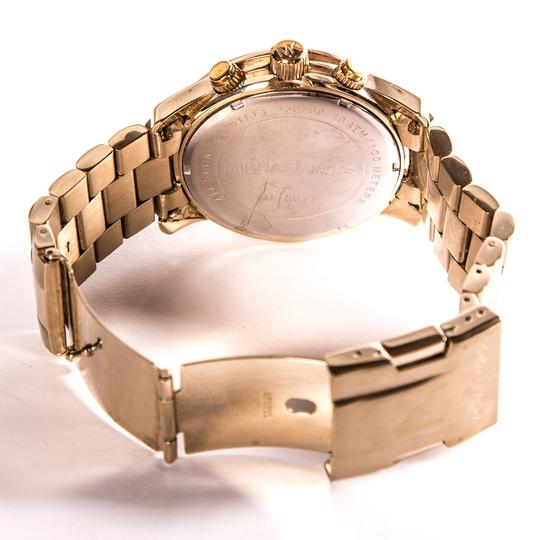 Michael Kors Michael Koors Stainless Steel & Yellow Gold Tone Watch