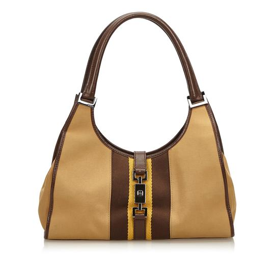 Preload https://item2.tradesy.com/images/gucci-jackie-brown-fabric-x-jacquard-x-leather-x-others-shoulder-bag-23545191-0-0.jpg?width=440&height=440