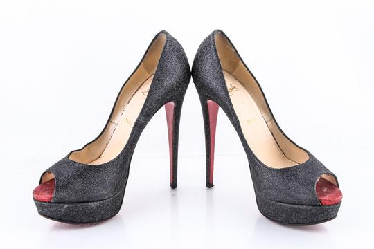 Christian Louboutin * Black/Red Pumps