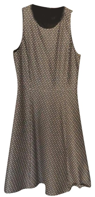 Preload https://img-static.tradesy.com/item/23545219/theory-black-and-grey-and-white-mid-length-workoffice-dress-size-0-xs-0-1-650-650.jpg