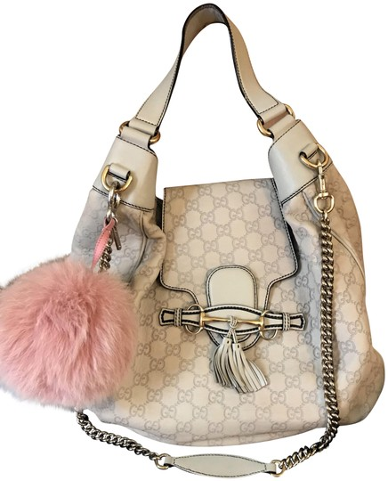 Preload https://item1.tradesy.com/images/gucci-emily-limited-ed-guccissima-emilie-chain-light-grey-beige-leather-hobo-bag-23545225-0-1.jpg?width=440&height=440