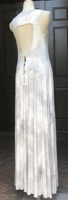 White Maxi Dress by Rachel Pally Maxi Black Cosmic Print