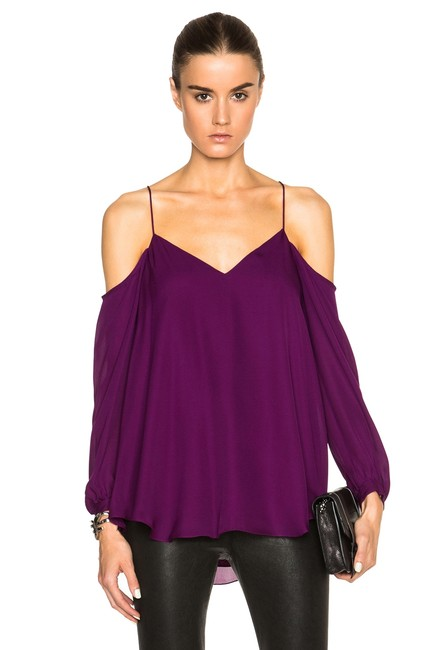 Preload https://img-static.tradesy.com/item/23545271/haute-hippie-purple-silk-cold-shoulder-blouse-size-4-s-0-0-650-650.jpg
