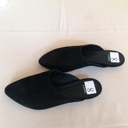 Eileen Fisher Black Flats