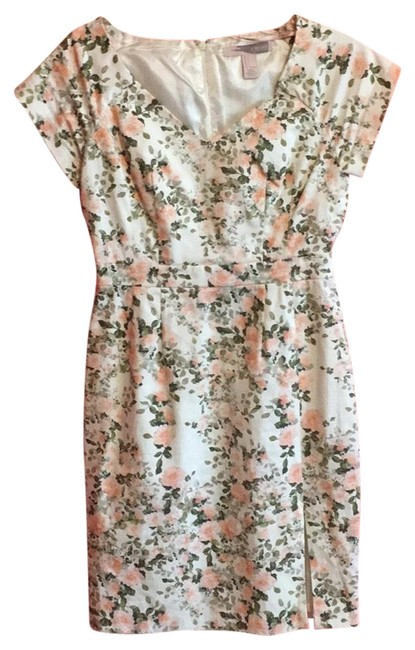Preload https://img-static.tradesy.com/item/23545367/forever-21-floral-pink-and-green-cute-mid-length-workoffice-dress-size-4-s-0-1-650-650.jpg