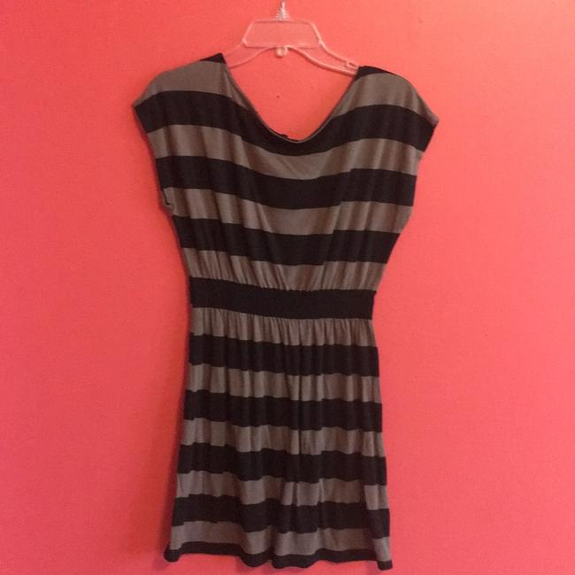 One Clothing short dress Black and Brown on Tradesy