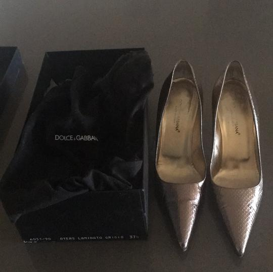 Dolce&Gabbana gold Pumps