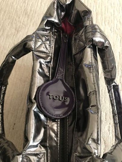 TOUS Tote in Silver