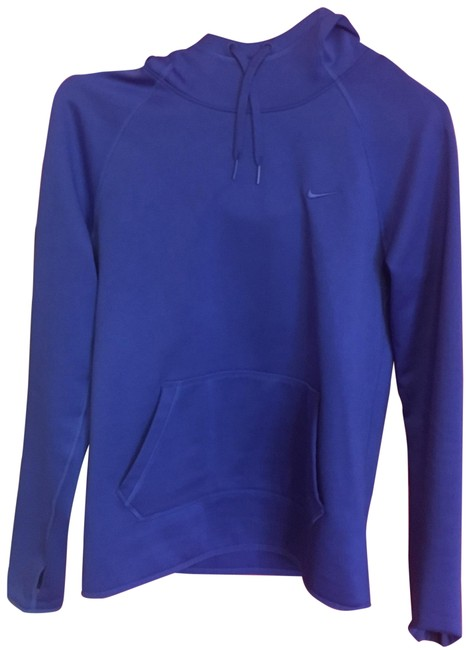Preload https://img-static.tradesy.com/item/23545454/nike-blue-thermafit-sweatshirthoodie-size-2-xs-0-1-650-650.jpg