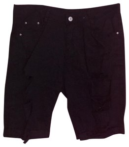 Jeans Cargo Shorts black