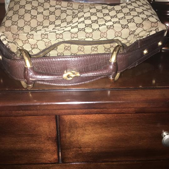 Gucci Horebit Beige Hobo Bag