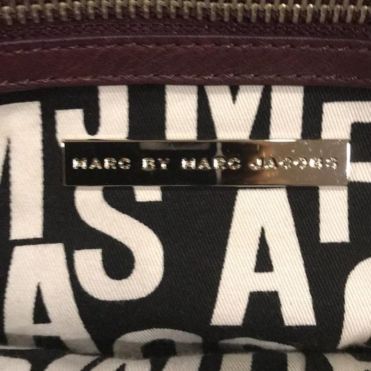 Marc by Marc Jacobs Satchel in deep purple (eggplant)