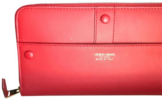 Preload https://item3.tradesy.com/images/giorgio-armani-red-wallet-23545622-0-1.jpg?width=440&height=440