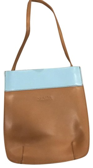 Preload https://img-static.tradesy.com/item/23545646/small-tan-and-aqua-leather-satchel-0-1-540-540.jpg