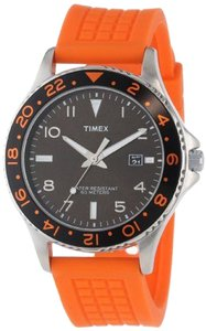 Timex Timex Male Sports Watch T2P031 Orange Analog