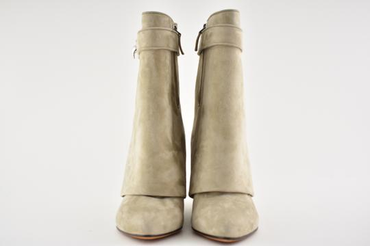 Givenchy Shark Lock Tooth Stiletto Midcalf beige Boots