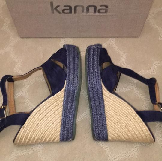 Kanna Blue Wedges