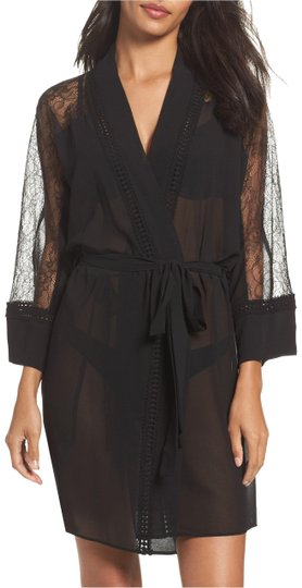 Preload https://item1.tradesy.com/images/flora-nikrooz-black-lace-and-chiffon-wrap-23545765-0-1.jpg?width=440&height=440