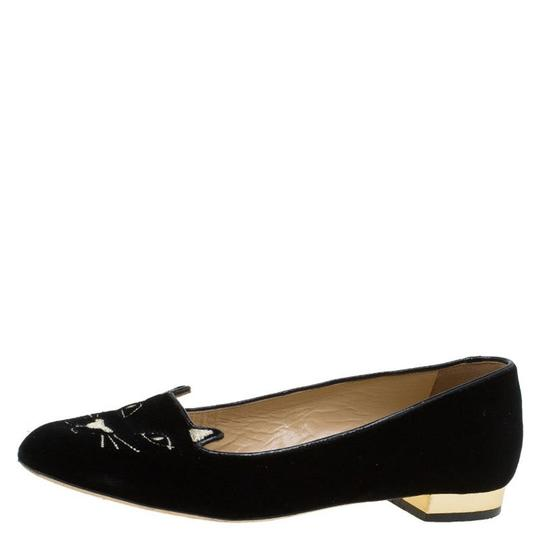 Preload https://item1.tradesy.com/images/charlotte-olympia-black-velvet-kitty-smoking-slippers-flats-size-eu-375-approx-us-75-regular-m-b-23545770-0-0.jpg?width=440&height=440