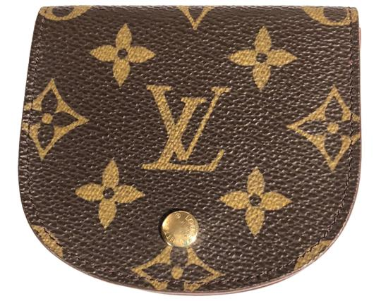 Louis Vuitton Monogram Porte Monnaie Gousset Coin Case