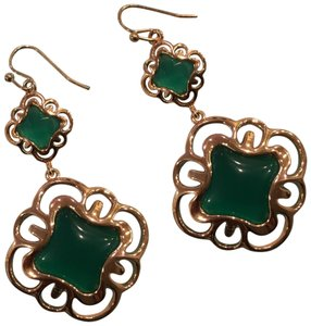 Kendra Scott Kendra Scott Emerald Drop Earrings