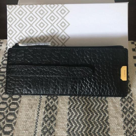 Lodis Lodis Borrego Leather Card Case Zip Pocket