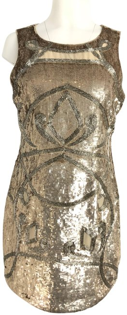 Preload https://item1.tradesy.com/images/needle-and-thread-pale-gold-silver-sequin-short-cocktail-dress-size-10-m-23545910-0-2.jpg?width=400&height=650