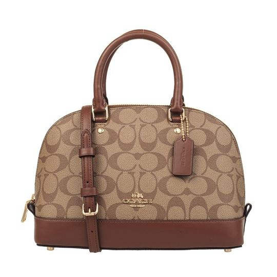 Preload https://img-static.tradesy.com/item/23545918/coach-women-s-mini-shoulder-inclined-shoulder-handbag-khakisaddle2-leather-cross-body-bag-0-0-540-540.jpg