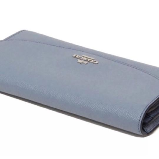 Coach Coach blue Slim Envelope Wallet