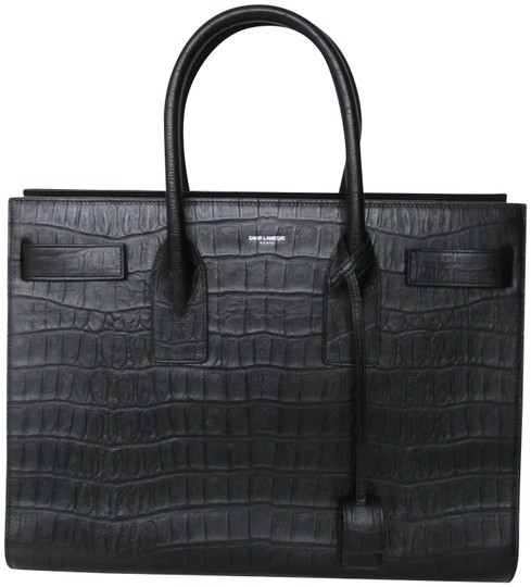 Preload https://img-static.tradesy.com/item/23545932/saint-laurent-sac-de-jour-croc-embossed-black-leather-tote-0-1-540-540.jpg