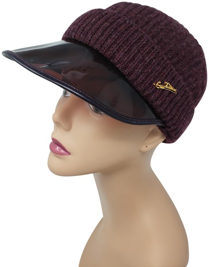 Preload https://img-static.tradesy.com/item/23545947/louis-vuitton-purple-burgundy-lv-logo-cashmere-beanie-hat-0-2-540-540.jpg