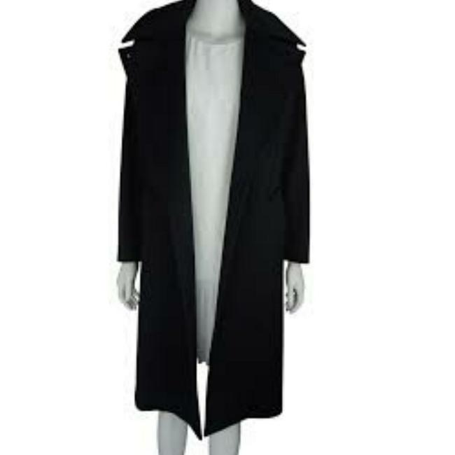 Preload https://item5.tradesy.com/images/max-mara-black-lined-made-in-italy-pure-cashmere-long-trench-coat-size-8-m-23545959-0-0.jpg?width=400&height=650