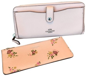 Coach light pink Coach Multi-functional wallet