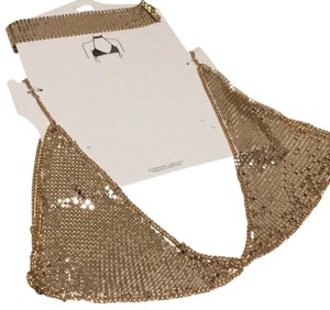Nasty Gal Chain mail bralette and choker NWT