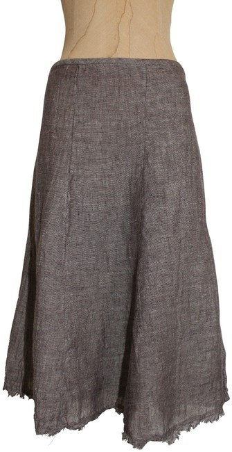 Item - Taupe Linen Skirt Size 10 (M, 31)