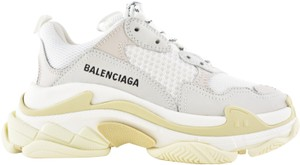 Balenciaga Triple Sneaker Trainer Leather Distressed white Athletic