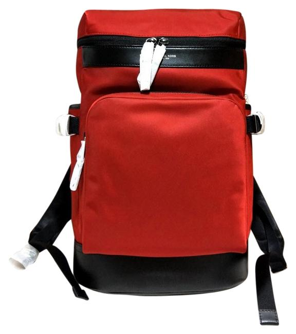 Item - Men's Cycling Red Nylon Backpack