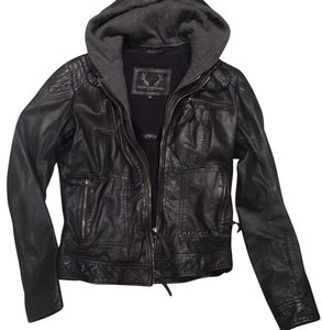 Bod & Christensen black Leather Jacket