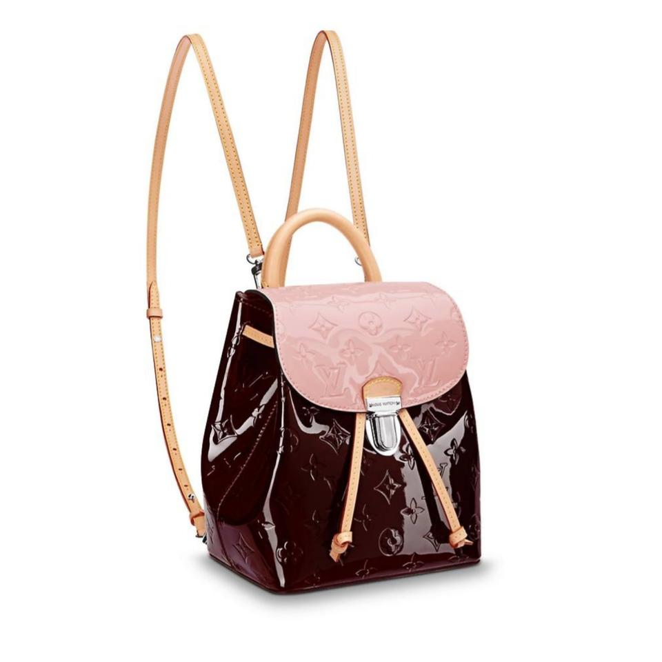 d04e303636a Louis Vuitton Vernis Patent Monogram Backpack