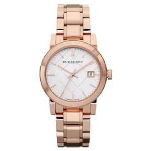 Burberry Women's Swiss Rose Gold-Tone Stainless Steel Watch