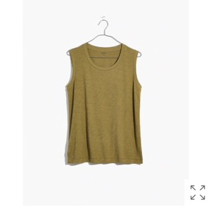 Madewell Top olive