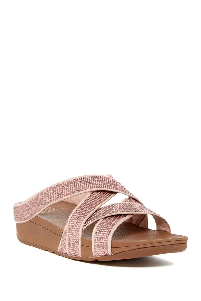 11d1831f1 FitFlop Nude Gold Leather Sandals. Size  US 8 Regular (M ...