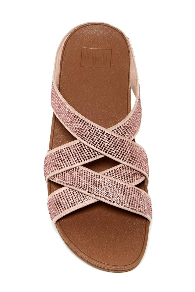 1f5b9660d FitFlop Nude Gold Leather Sandals Size US 8 Regular (M