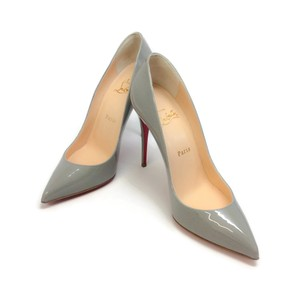 Christian Louboutin Follies Pigalle Classics Gray Pumps