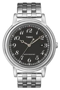 Timex Timex Male Dress Watch T2N666 Silver Analog