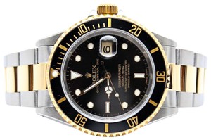 Rolex Rolex Submariner Date 40MM Stainless Steel and 18K Yellow Gold 16613