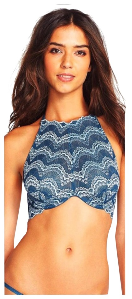 7764dfee1450f Free People Halter Bra Crochet Lace Tank Top Cami Size 2 (XS) - Tradesy