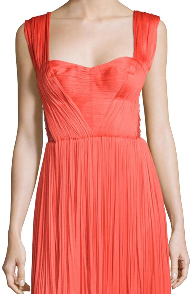 Red Bustier Cocktail Dress