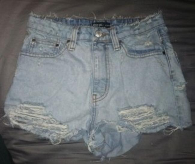 Preload https://item5.tradesy.com/images/nasty-gal-light-wash-high-waisted-destroyed-denim-minishort-shorts-size-2-xs-26-23549-0-0.jpg?width=400&height=650